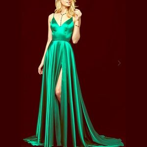 Sherri Hill silk gown